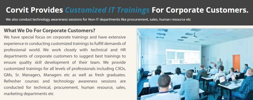 Corporate Trainings Best It Certification Training Center